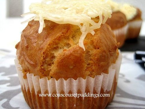 muffins sale au fromage emmental