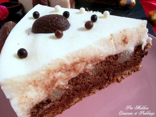 gateau mousse au chocolat et mousse aux poires-copie-2