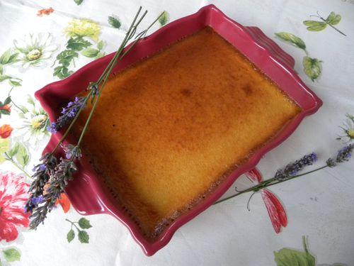 oeufs lait miel lavande
