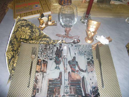 défi Egypte ma table 032