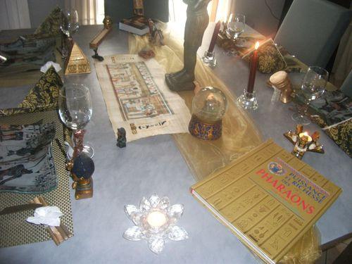 défi Egypte ma table 054