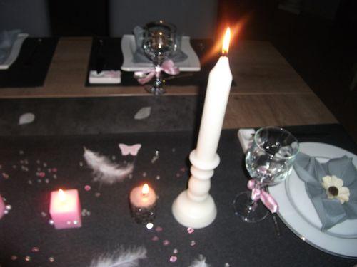 table noire et rose 014
