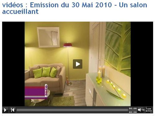 Partylite dans l 39 mission m6 d co bienvenue sur le blog for Emission de deco m6