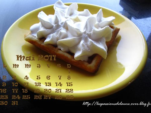 Mai-gaufre chantilly