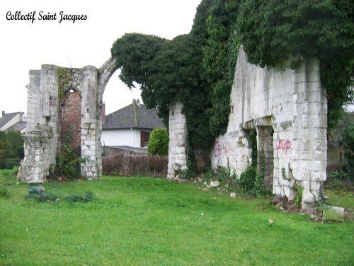 ruines de l'église Saint Paul