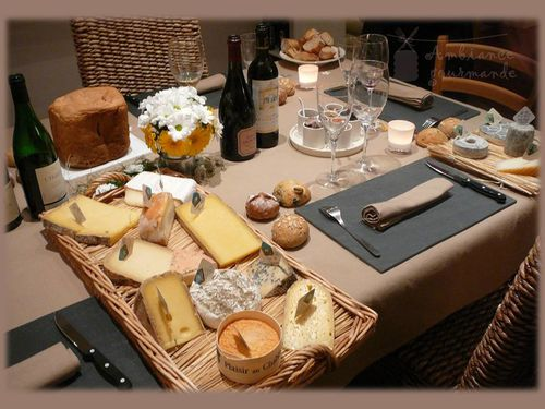 ambiance gourmande d gustation fromages ambiance gourmande recettes pr sentations pour. Black Bedroom Furniture Sets. Home Design Ideas