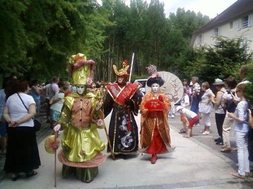 défilé Vénitien à Chanaz