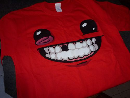 Super Meat Boy Ultra Rare Edition Tshirt
