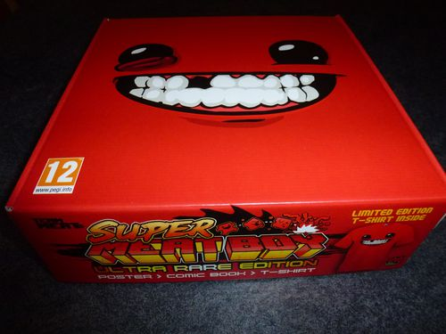 Super Meat Boy Ultra Rare Edition