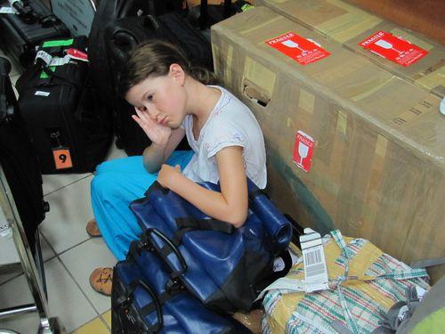 Denpasar aéroport retour fatigue de Léa