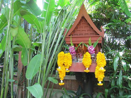 Bangkok maison de Jim Thompson maison des esprits