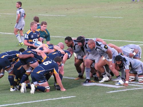 Canberra match rugby des Brumbies 2