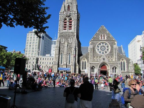 Christchurch cathedrale
