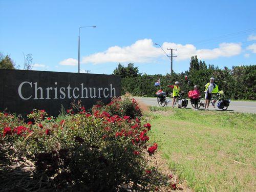 Christchurch arrivée 2