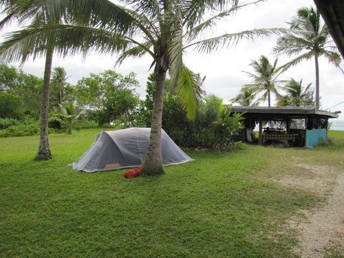 Campement chez Corinne et Didier