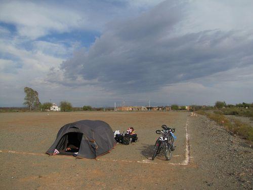 1er campement à Marayes 1