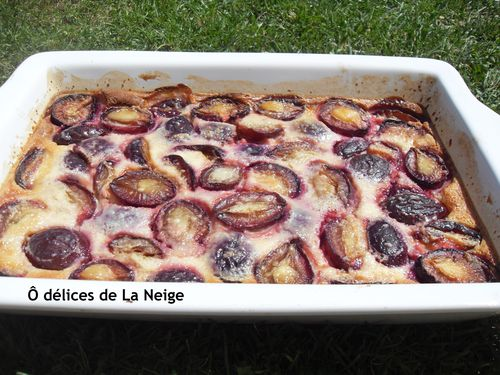 clafoutis de questches