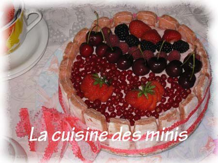 Charlotte aux fruits rouges 04