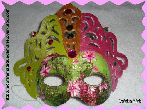 masque princesse 1
