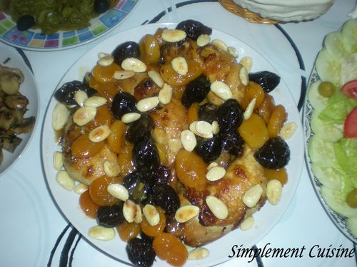 poulet aux fruits secs2