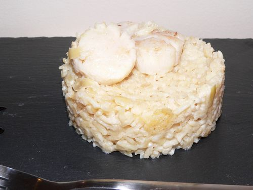 Risotto Saint Jacques (3)