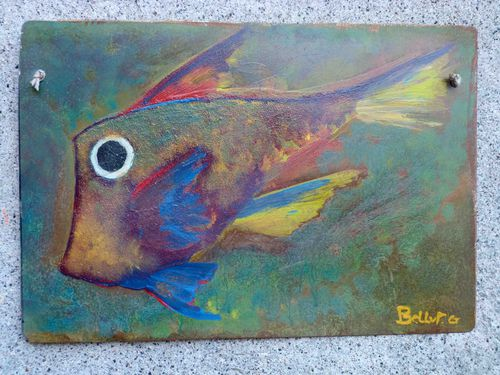 poisson plaque georges bellut 06