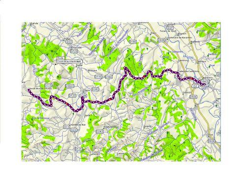 Trace MapSource St Jascques 23 01 12