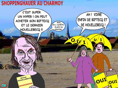 Shoppinghauer au Charmoy