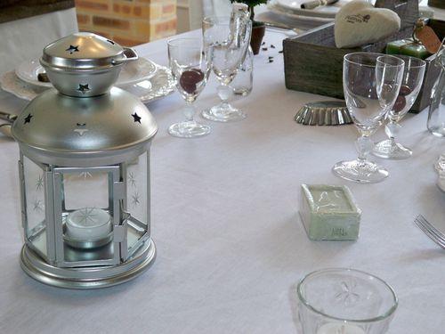 Table charme, douceur et pureté 170