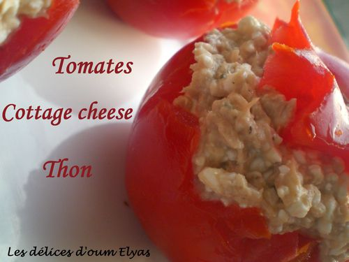 Tomates farcies au cottage cheese(3)