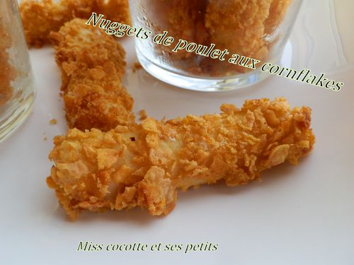 nuggets de poulet aux cornflakes le blog de miss cocotte et ses. Black Bedroom Furniture Sets. Home Design Ideas