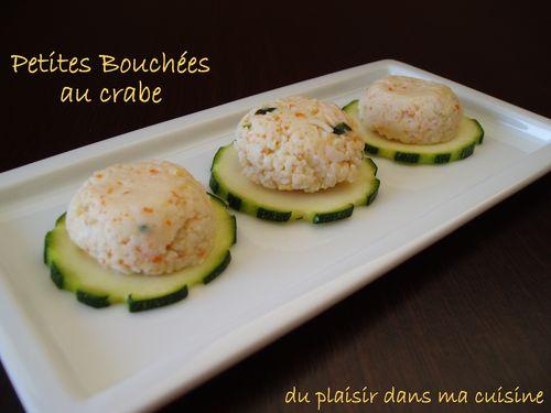 petites bouchées au crabe (2)