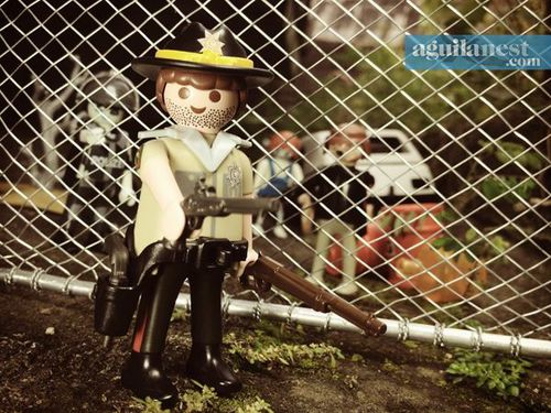 aguilanest playmobil the walking dead b