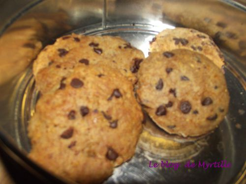 Cookies pamplemousse choco