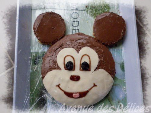Gateaux tete de mickey - Gateau mickey facile ...