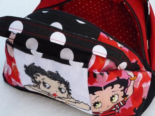 Betty Boop valisette A3