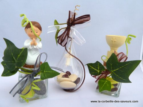 Drag es communion cr ations et gourmandises for Idee deco 1ere communion