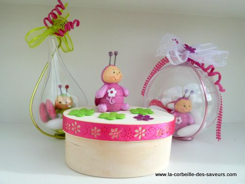 Idees bapteme cr ations et gourmandises for Idee deco bapteme fille