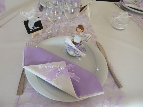 Idees communion cr ations et gourmandises - Decoration de table pour communion garcon ...