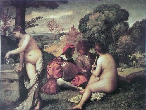 Giorgione Concert champêtre