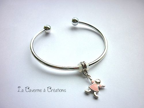 bracelet-fille-rose