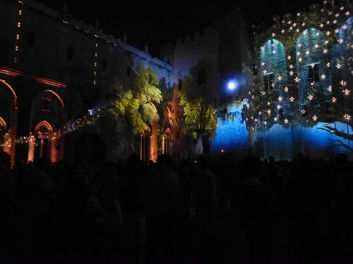 Les luminissences. Avignon. Le palais des Papes. 2-copie-11