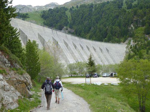 Barrage de Plan-d'Amont.