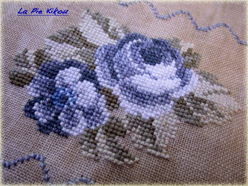 grey flowers sampler