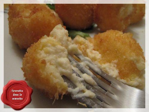 Croquette chève, potiron & pommes de terre4