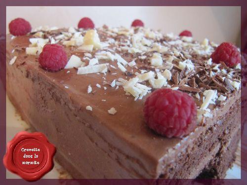 Gâteau au chocolat mamina1