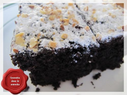 Gâteau chocolat courgettes4