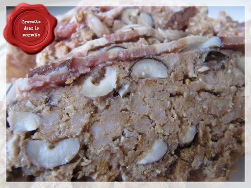 Pâté au porc et aux noisettes6