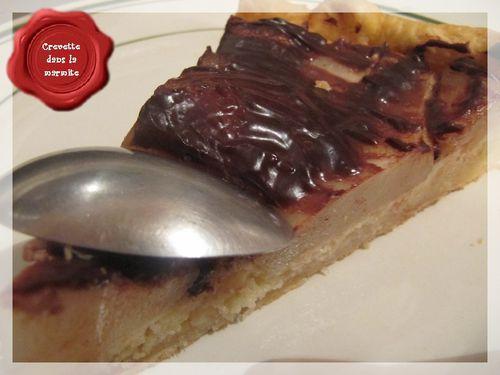 Tarte poire-chocolat2