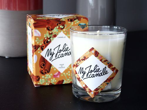 bougie canelle my jolie candle
